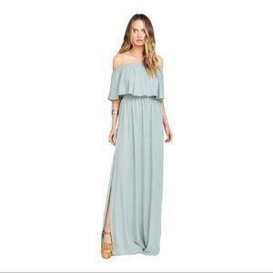 Show Me Your MuMu Hacienda Silver Sage Dress Flaw!